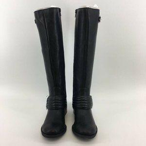 Jessica Simpson Womens Riding Boots Elmont Black L